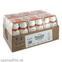 Fresubin energy DRINK Erdbeere Trinkflasche, 6X4X200 ML, Fresenius Kabi Deutschland GmbH