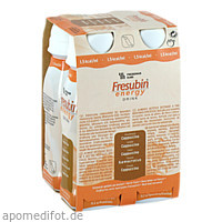 Fresubin Energy DRINK Cappuccino Trinkflasche, 4X200 ML, Fresenius Kabi Deutschland GmbH