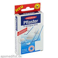 Pflaster Transparent 4 größen Wasserfest, 20 ST, Axisis GmbH