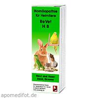REVET H 8 Globuli f.Heimtiere, 10 G, Dr.RECKEWEG & Co. GmbH