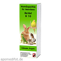 REVET H 10 Globuli f.Heimtiere, 10 G, Dr.RECKEWEG & Co. GmbH