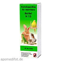 REVET H 13 Globuli f.Heimtiere, 10 G, Dr.RECKEWEG & Co. GmbH