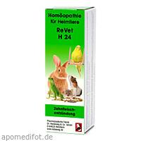 REVET H 24 Globuli f.Heimtiere, 10 G, Dr.RECKEWEG & Co. GmbH