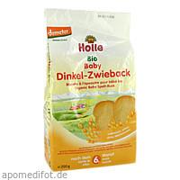 Holle Bio Baby Dinkel-Zwieback, 200 G, Holle baby food AG