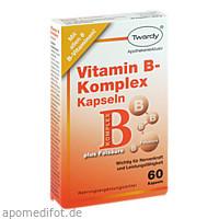 VITAMIN B KOMPLEX KAPSELN, 60 ST, Astrid Twardy GmbH