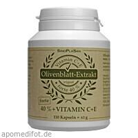 Olivenblatt Extrakt Forte 40% + C+E, 110 ST, Sinoplasan AG