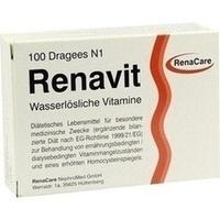 Renavit, 100 ST, Renacare Nephromed GmbH