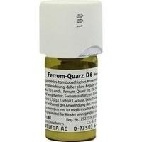 Ferrum Quarz D6, 20 G, Weleda AG