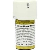 Ferrum Quarz D12, 20 G, Weleda AG
