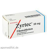 ZYRTEC, 100 ST, UCB Pharma GmbH