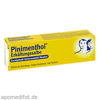 PINIMENTHOL Erk.Salbe Eucalyptus Kiefernnad.Mentho, 20 G, Dr.Willmar Schwabe GmbH & Co. KG