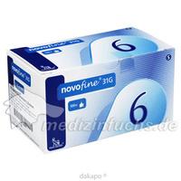 NOVOFINE 6 Kanülen 0.25x6mm, 100 ST, Medi-Spezial GmbH