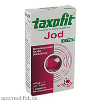 taxofit Jod Depot Tabletten, 60 ST, MCM KLOSTERFRAU Vertr. GmbH