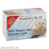 H&S MAGEN DARMTEE MILD, 20X2.0 G, H&S Tee - Gesellschaft mbH & Co.
