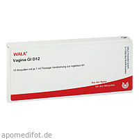 VAGINA GL D12, 10X1 ML, Wala Heilmittel GmbH