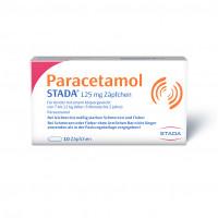Paracetamol STADA 125mg Zäpfchen, 10 ST, STADA Consumer Health Deutschland GmbH