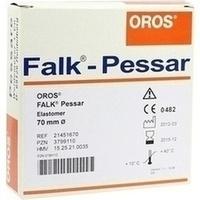 FALK Pessar aus Elastomer 70mm Durchmesser, 1 ST, Weidemeyer + Co. Vertriebsges. Für Medizinbedarf mbH