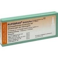 Rufebran broncho, 10 ST, COMBUSTIN Pharmazeutische Präparate GmbH