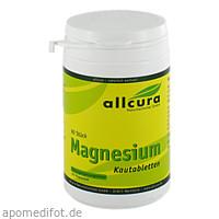 MAGNESIUM KAUTABLETT O ZUC, 90 ST, Allcura Naturheilmittel GmbH