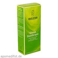 WELEDA Citrus Deodorant, 100 ML, WELEDA AG