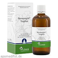 Nervoregin Tropfen, 100 ML, Homöopathisches Laboratorium Alexander Pflüger GmbH & Co. KG