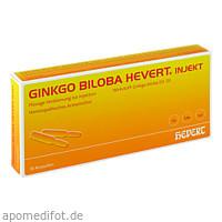 Ginkgo biloba Hevert injekt, 10 ST, Hevert Arzneimittel GmbH & Co. KG