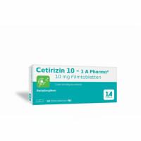 Cetirizin 10 - 1 A Pharma, 50 ST, 1 A Pharma GmbH