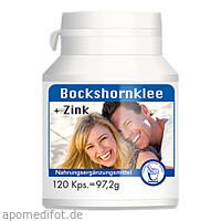 Bockshornklee + Zink Kapseln, 120 ST, Pharma Peter GmbH