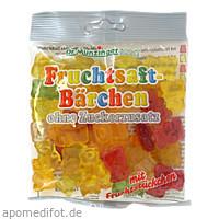 DR. MUNZINGER Fruchtsaftbärchen ohne Zuckerzusatz, 125 G, Dr.Munzinger Sport GmbH & Co. KG