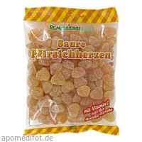 DR. MUNZINGER Saure Pfirsichherzen mit Vitamin C, 250 G, Dr.Munzinger Sport GmbH & Co. KG