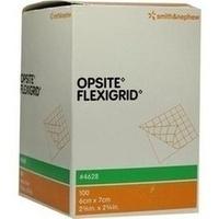 OPSITE FLEXIGRID 7X6CM steril, 100 ST, Smith & Nephew GmbH