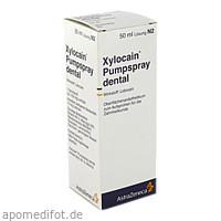 XYLOCAIN PUMPSPRAY DENTAL, 50 ML, Aspen Germany GmbH