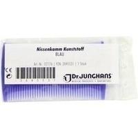 Nissenkamm aus Kunststoff blau, 1 ST, Dr. Junghans Medical GmbH
