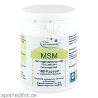 MSM + Biopep Vegi Kapseln, 180 ST, G & M Naturwaren Import GmbH & Co. KG