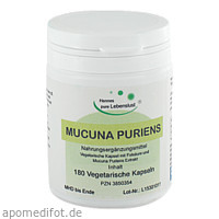Mucuna Pruriens Vegi Kapseln, 180 ST, G & M Naturwaren Import GmbH & Co. KG