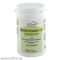 Muira Puama Vegi Kapseln, 180 ST, G & M Naturwaren Import GmbH & Co. KG
