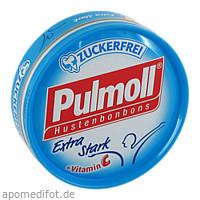 PULMOLL HUSTENBONBON EXTRA STARK ZUCKERFREI, 50 G, Sanotact GmbH
