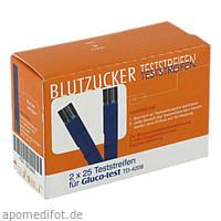 Gluco-test Blutzuckerteststreifen, 50 ST, Aristo Pharma GmbH