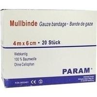 MULLBINDE 6CM O CELL, 20 ST, Param GmbH