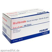 MULLBINDE 8CM O CELL, 100 ST, Param GmbH