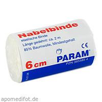 NABELBINDE M BAND 6CM M CELLO, 1 ST, Param GmbH