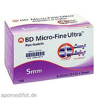 BD Micro FINE Ultra Pen-Nadeln 0.25x5mm, 100 ST, Medi-Spezial GmbH