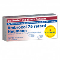 AMBROXOL 75 RETARD HEUMANN, 50 ST, Heumann Pharma GmbH & Co. Generica KG