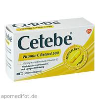 Cetebe Vitamin C Retard 500, 30 ST, STADA Consumer Health Deutschland GmbH