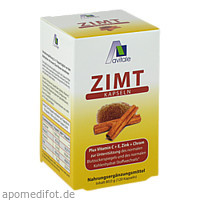 ZIMTKAPSELN 500mg + Vit. C+E, 120 ST, Avitale GmbH