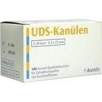 KANUELEN UDS 30X0.3X25MM, 100 ST, Sanofi-Aventis Deutschland GmbH