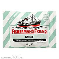 FISHERMANS FRIEND MINT O Z, 25 G, Queisser Pharma GmbH & Co. KG