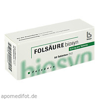 FOLSAEURE 5MG, 50 ST, Biosyn Arzneimittel GmbH