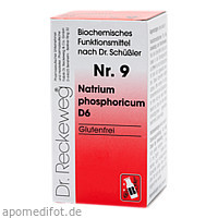 Biochemie 9 Natrium phosphoricum D6, 200 ST, Dr.Reckeweg & Co. GmbH