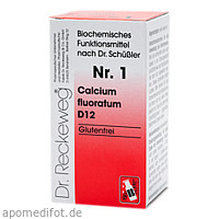 Biochemie 1 Calcium fluoratum D12, 200 ST, Dr.Reckeweg & Co. GmbH